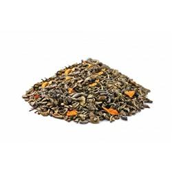 """Чай Gutenberg зелёный ароматизированный """"Лимонник"""" (Китайский лимонник на ганпаудере), 0,5 кг"""