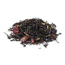"""Чай Gutenberg чёрный ароматизированный """"Дикая Вишня"""", 0,5 кг"""